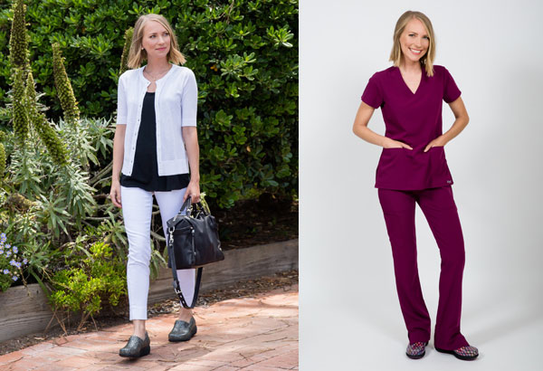 Grey's Anatomy Professional Footwear by SoftWalk.