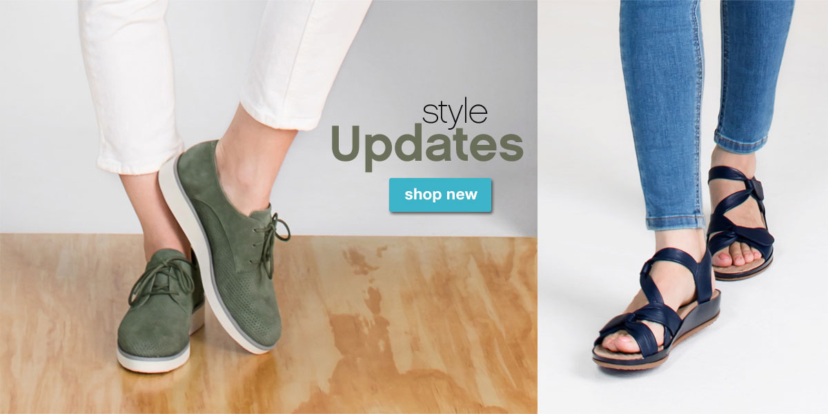 Style Updates. Shop New.