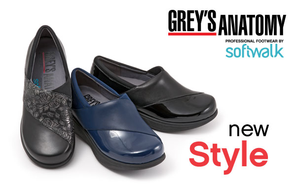 Greys Anatomy Professional Footwear by SoftWalk. New Style