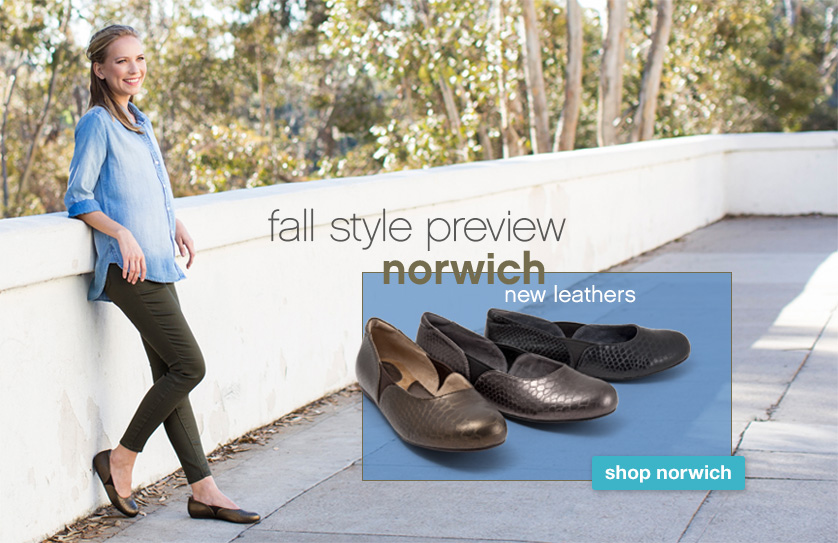 Fall Style Preview: Norwich in new leathers. Shop Norwich