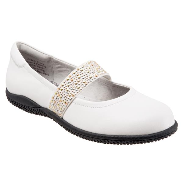 High Point White Studded