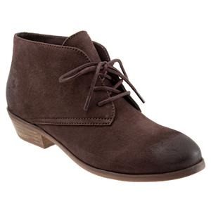Ramsey Dark Brown Suede