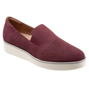 Whistle Burgundy Nubuck Perf