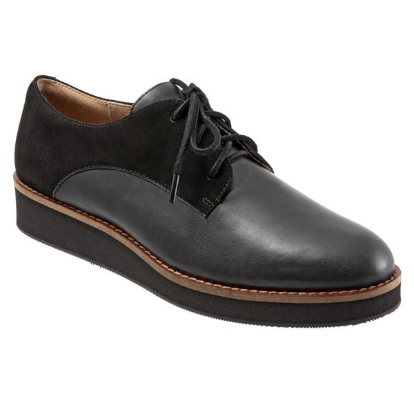 Willis Black Black Nubuck